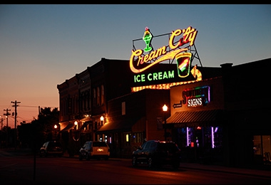 Cream City Sign